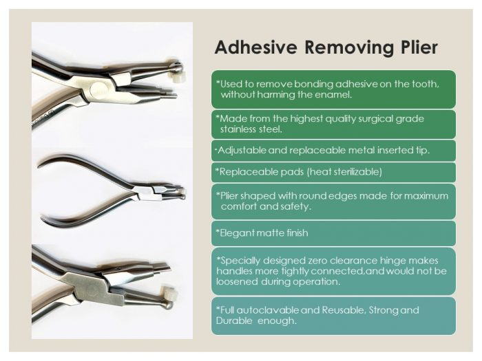 Adhesive Removing Plier